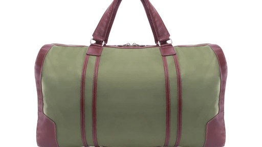 McKlein USA Pasadena Travel Duffel - image 3 from the video
