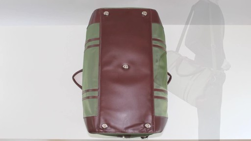 McKlein USA Pasadena Travel Duffel - image 6 from the video