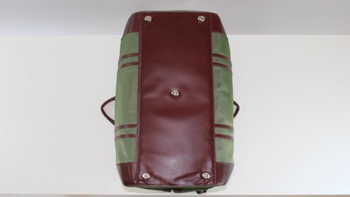 McKlein USA Pasadena Travel Duffel - image 7 from the video