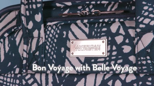 American Tourister Belle Voyage Luggage Collection - image 9 from the video