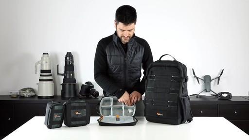 Lowepro ViewPoint BP 250 AW Camera Bag - image 10 from the video