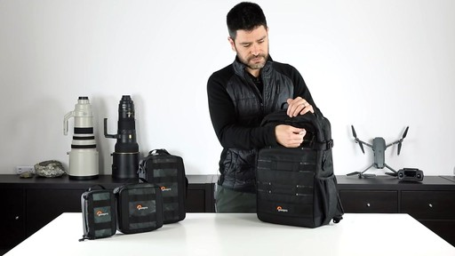 Lowepro ViewPoint BP 250 AW Camera Bag - image 7 from the video