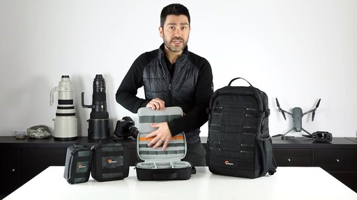 Lowepro ViewPoint BP 250 AW Camera Bag - image 9 from the video