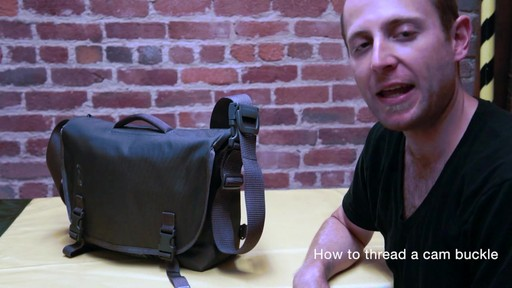 Timbuk2 - How to Thread Cam Buckle - image 1 from the video