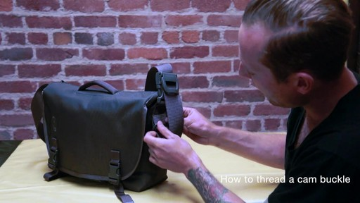 Timbuk2 - How to Thread Cam Buckle - image 10 from the video