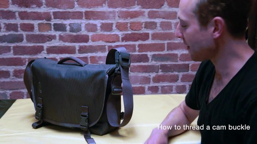 Timbuk2 - How to Thread Cam Buckle - image 2 from the video