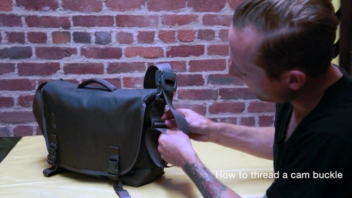 Timbuk2 - How to Thread Cam Buckle - image 3 from the video