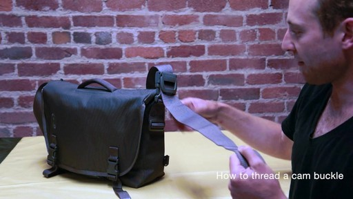 Timbuk2 - How to Thread Cam Buckle - image 4 from the video