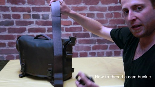 Timbuk2 - How to Thread Cam Buckle - image 5 from the video