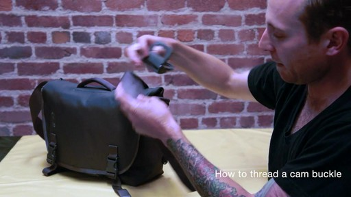 Timbuk2 - How to Thread Cam Buckle - image 6 from the video