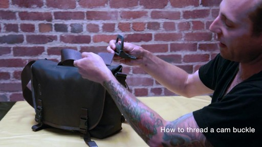 Timbuk2 - How to Thread Cam Buckle - image 7 from the video