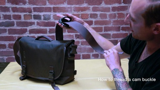 Timbuk2 - How to Thread Cam Buckle - image 8 from the video