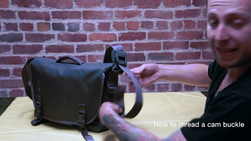 Timbuk2 - How to Thread Cam Buckle - image 9 from the video