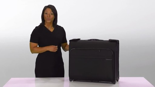 Briggs & Riley Baseline Deluxe Wheeled Garment Bag - image 1 from the video