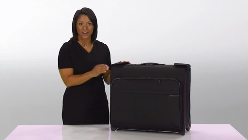 Briggs & Riley Baseline Deluxe Wheeled Garment Bag - image 2 from the video