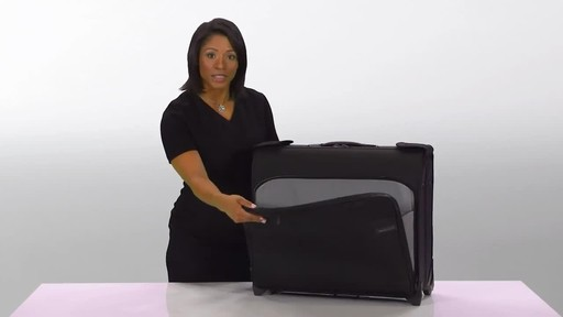 Briggs & Riley Baseline Deluxe Wheeled Garment Bag - image 3 from the video
