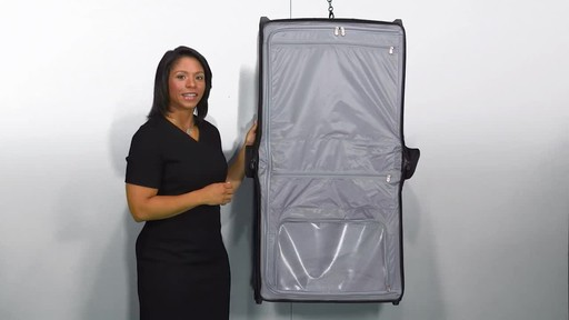 Briggs & Riley Baseline Deluxe Wheeled Garment Bag - image 6 from the video