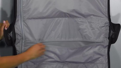 Briggs & Riley Baseline Deluxe Wheeled Garment Bag - image 7 from the video