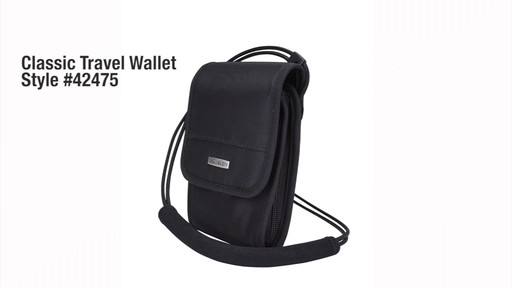 Travelon Anti-Theft Classic Travel Wallet - eBags.com - image 10 from the video
