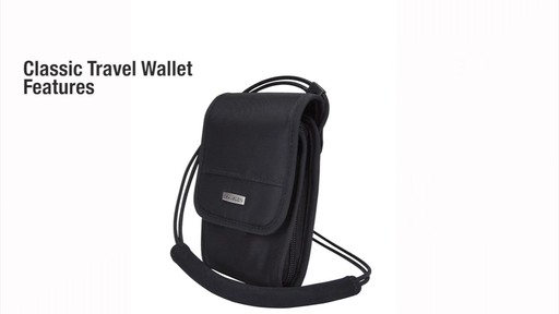 Travelon Anti-Theft Classic Travel Wallet - eBags.com - image 2 from the video