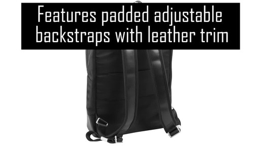 McKlein USA Brooklyn Laptop Backpack - image 4 from the video