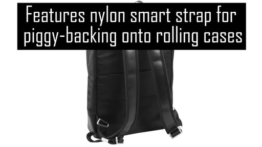 McKlein USA Brooklyn Laptop Backpack - image 5 from the video