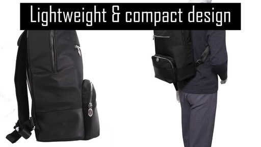 McKlein USA Brooklyn Laptop Backpack - image 6 from the video