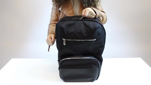 McKlein USA Brooklyn Laptop Backpack - image 9 from the video