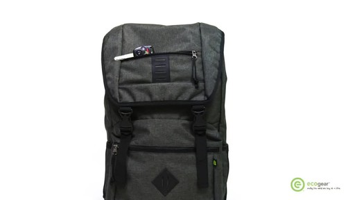 ecogear Pika Laptop Backpack - image 3 from the video
