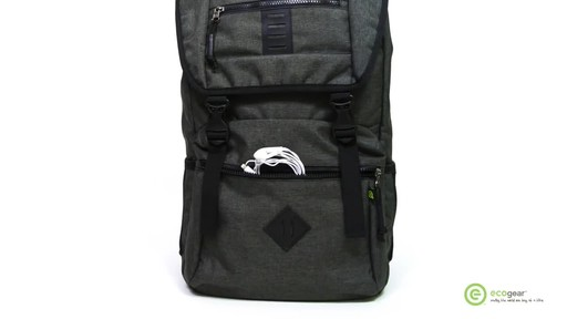 ecogear Pika Laptop Backpack - image 4 from the video