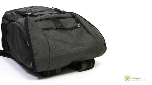 ecogear Pika Laptop Backpack - image 5 from the video