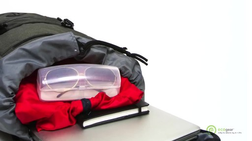 ecogear Pika Laptop Backpack - image 8 from the video