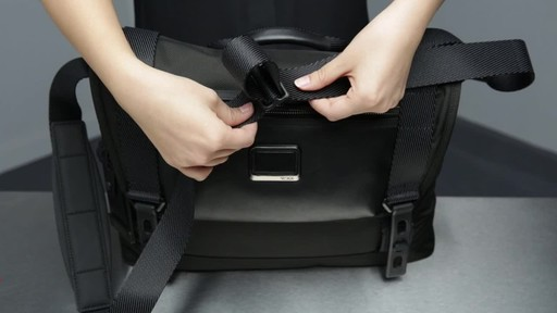 Tumi Alpha Bravo Fallon Messenger - image 1 from the video