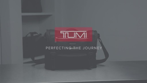 Tumi Alpha Bravo Fallon Messenger - image 10 from the video