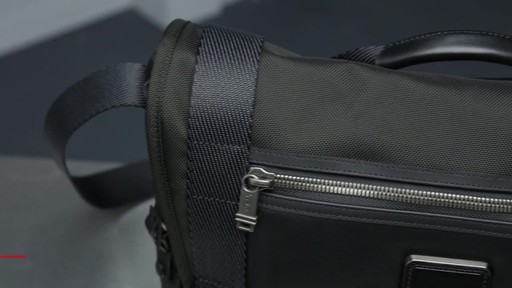 Tumi Alpha Bravo Fallon Messenger - image 2 from the video
