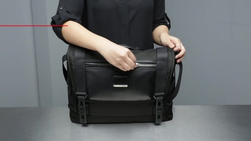 Tumi Alpha Bravo Fallon Messenger - image 4 from the video