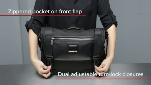 Tumi Alpha Bravo Fallon Messenger - image 5 from the video