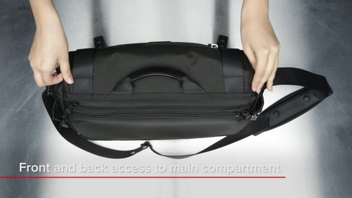 Tumi Alpha Bravo Fallon Messenger - image 7 from the video