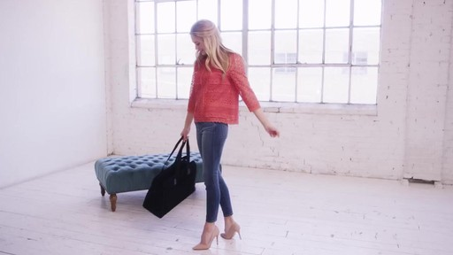 Vera Bradley Triple Compartment Travel Bag  - image 10 from the video