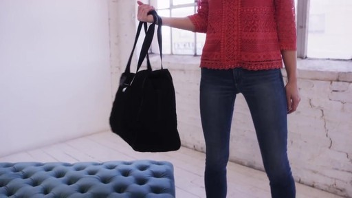 Vera Bradley Triple Compartment Travel Bag  - image 2 from the video