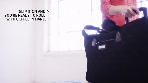 Vera Bradley Triple Compartment Travel Bag  - image 9 from the video