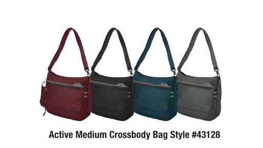 Travelon Anti-Theft Active Medium Crossbody Bag - on eBags.com - image 10 from the video