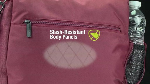 Travelon Anti-Theft Active Medium Crossbody Bag - on eBags.com - image 4 from the video