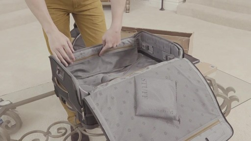 Barracuda Collapsible Carry-On - on eBags.com - image 2 from the video