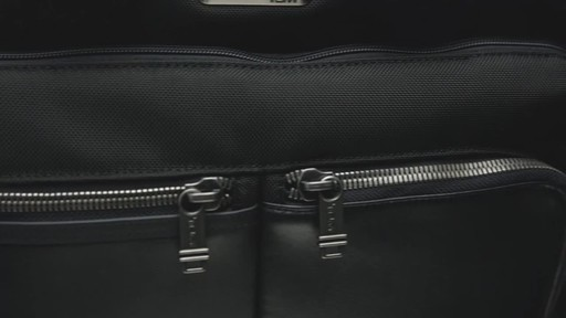Tumi Alpha Bravo Patterson Brief - image 10 from the video