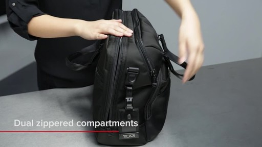 Tumi Alpha Bravo Patterson Brief - image 6 from the video
