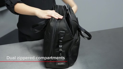 Tumi Alpha Bravo Patterson Brief - image 7 from the video