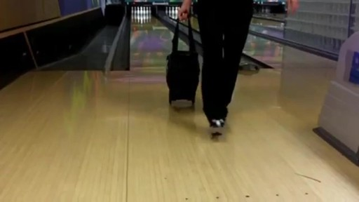 KR Strikeforce Bowling Royal Flush Slim Triple Bowling Ball Roller Bag - eBags.com - image 2 from the video