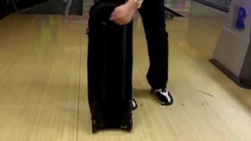 KR Strikeforce Bowling Royal Flush Slim Triple Bowling Ball Roller Bag - eBags.com - image 3 from the video