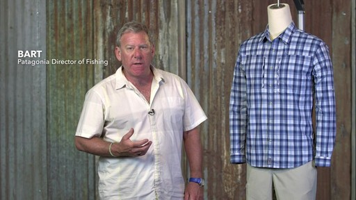 Patagonia Mens Long Sleeve Sun Stretch Shirt - image 1 from the video
